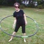 Spin Art Hoops