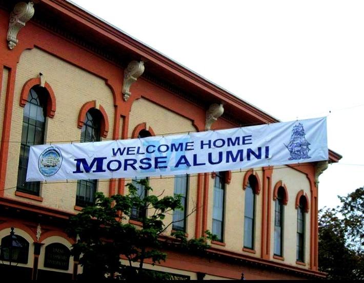 Morse alumni banner