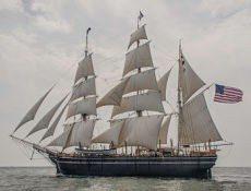 Charles W. Morgan Under Full Sail
